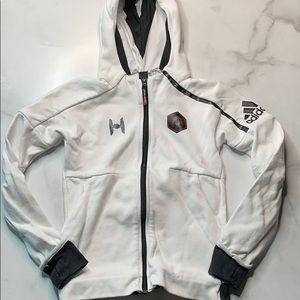 Adidas Youth Stormtrooper Zip Up Hoodie